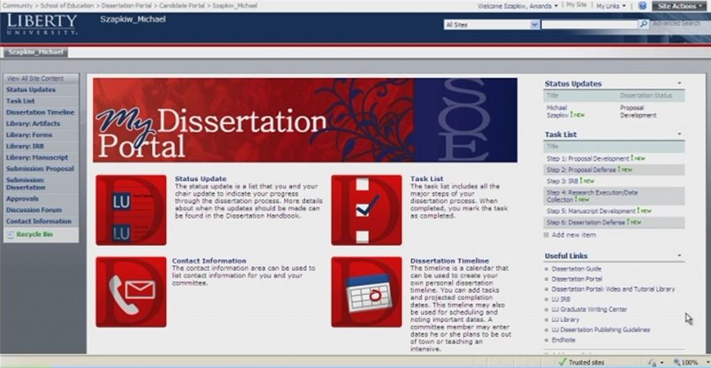 Academic wiki dissertation